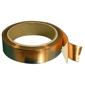 3201-50-0.035 mm thick Copper tape with conductive adhesive 50 mm width, 16.5 meters length