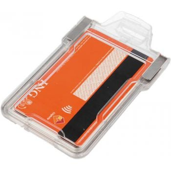 RFID card shield clip